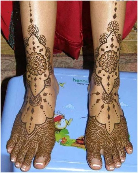 Simple Leg Mehndi Designs : Best leg mehndi designs with pictures styles at life