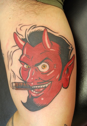 1f5dbecae 18 Powerful Devil Tattoo Designs To Look Aggressive In 2019