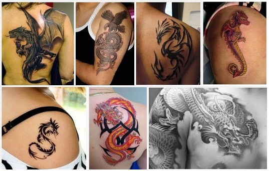 fec345c8f 15+ Stunning Dragon Tattoo Designs Which are Sure to Impress You
