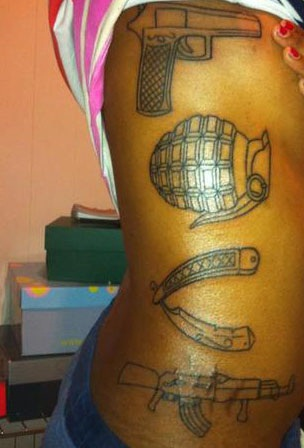 18 Most Creative Gun Tattoo Designs With Pictures In 2018 Styles