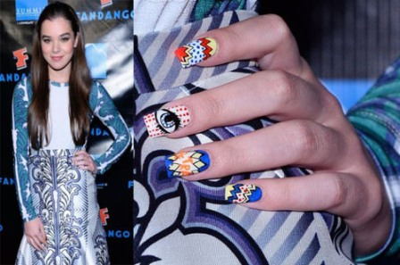 Sometimes celebrities ... - 9 Best Hollywood Celebrity Nail Art Designs Styles At Life