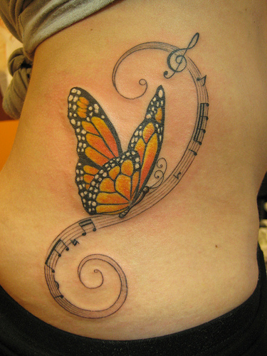 music tattoo images