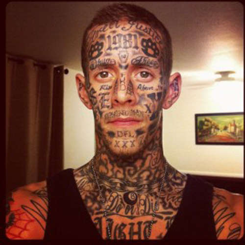 Cheap Facial Tattoos