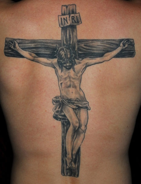 Crucified form of Jesus