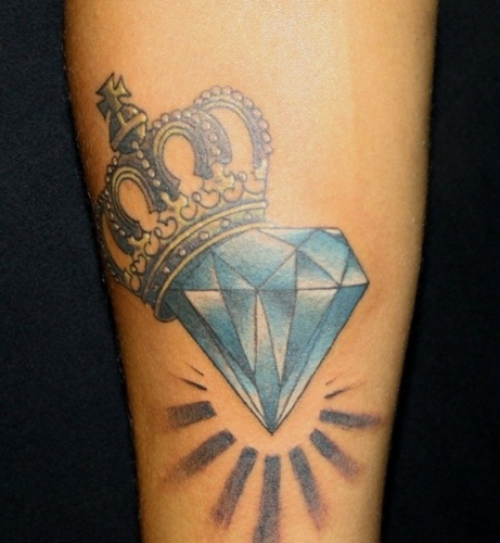 25 Brilliant Diamond Tattoo Designs For Men And Women