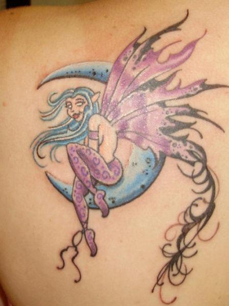 Evil Fairy Tattoos