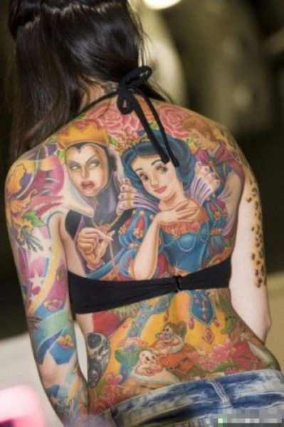 15 beautiful full body tattoo designs for men and women for Beautiful body tattoo