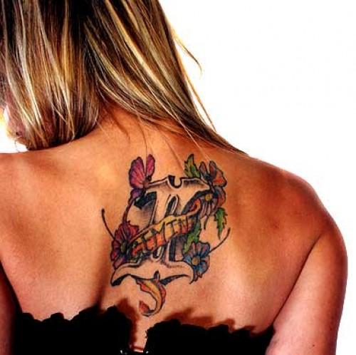 Feminine Gemini Tattoo