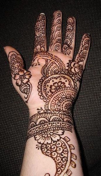 15 Eye-Catching Bangle Mehandi Designs With Images | Styles At Life