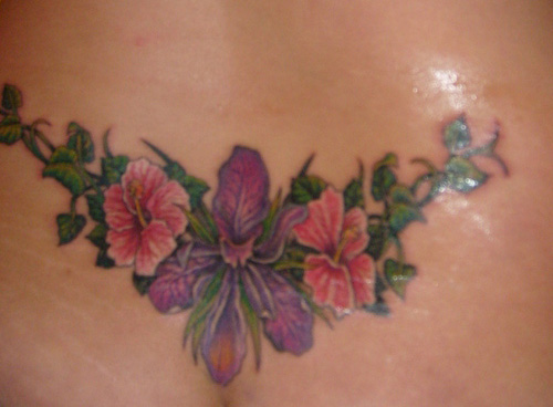 Lower Back Flower Tattoos: 15 Beautiful Lower Back Tattoo Designs And Names