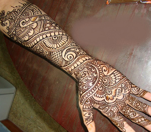 Full Arm Mehndi : Latest asha savla mehndi designs with pictures styles