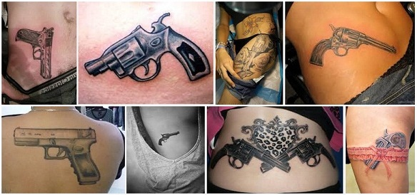 18 Most Creative Gun Tattoo Designs With Pictures Styles At Life