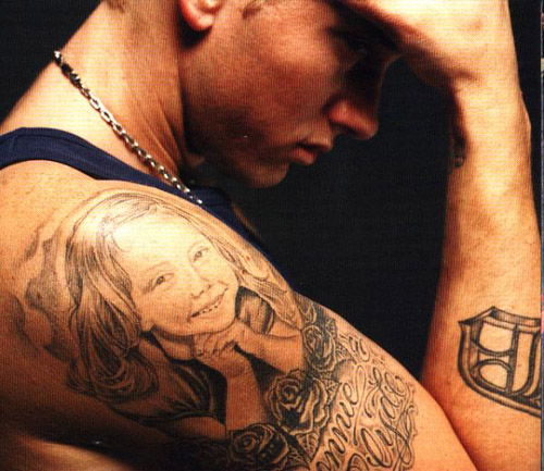 Hailie Jade and Bonnie & Clyde Tattoo