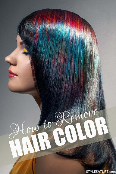 How to Remove Hair Color