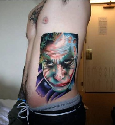 joker-tattoo-designs-serious-face