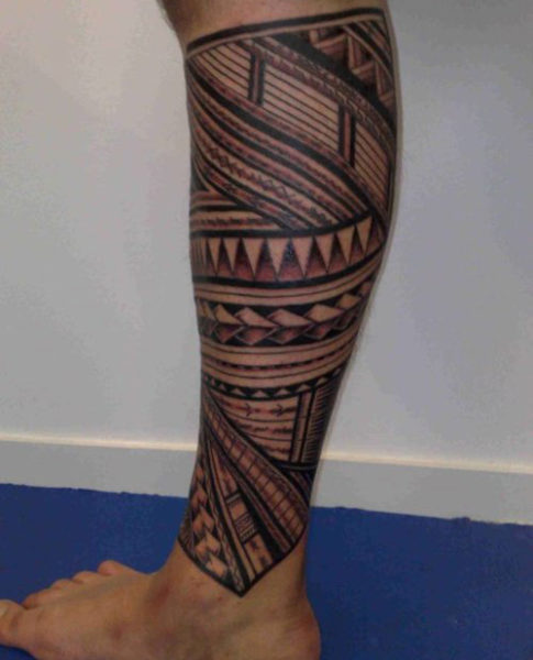 15 full and lower leg tattoo designs for men and women