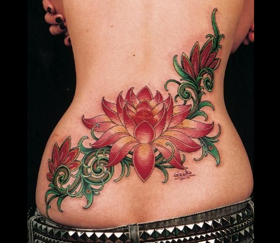 15 Beautiful Lower Back Tattoo Designs And Names