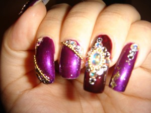 9 Best Indian Wedding Nail Art Designs | Styles At Life