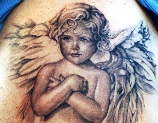 Miami Ink Angel Tattoo