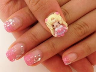 Nail art designs Using Foils