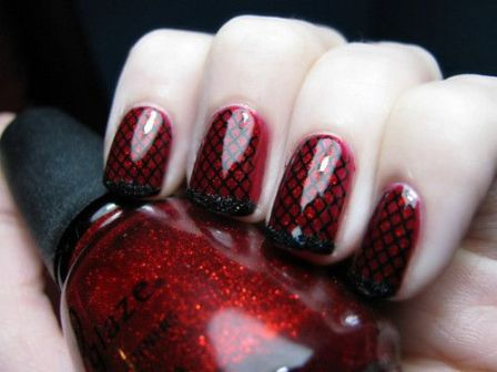 Best Red Nail Art Designs with Pictures  Styles At LIfe