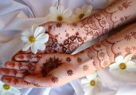 Mehndi Flower Valley : Cute and easy round mehndi designs with pictures styles at life