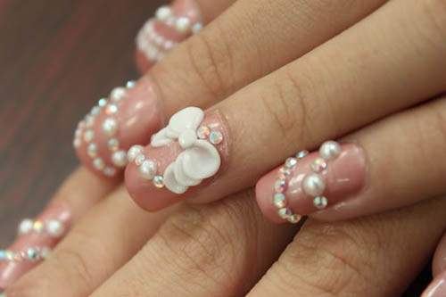 Nail art with pearls images nail art and nail design ideas pearls for nail art best nails art ideas prinsesfo images prinsesfo Image collections
