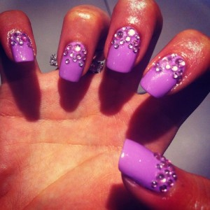 9 Best Rhinestone Nail Art Designs | Styles At Life