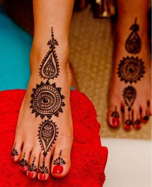 Best Leg Mehndi Design : Best leg mehndi designs with pictures styles at life