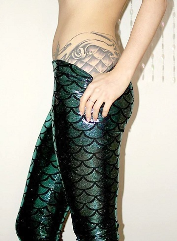 Scale Mermaid Tattoo
