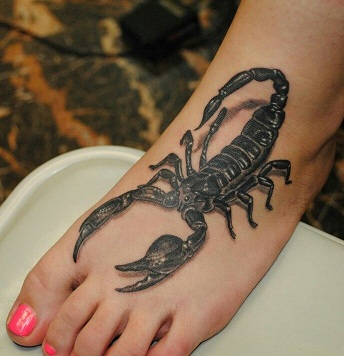 15 latest meaningful scorpion tattoo pictures designs. Black Bedroom Furniture Sets. Home Design Ideas