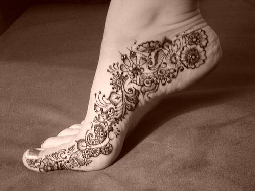 15 Trendy Foot Mehndi Designs With Pictures Style At Life