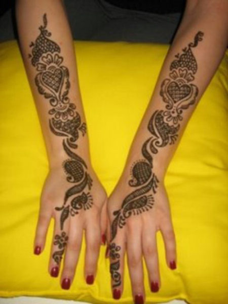 15 Cool Arms Mehndi Designs With Photos  Styles At Life