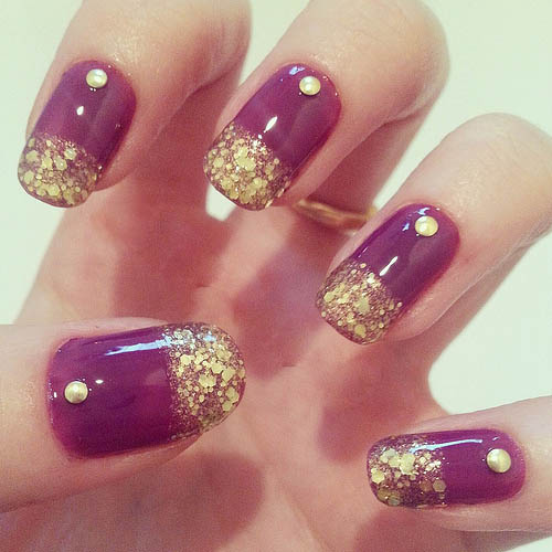 Nail Designs With Studs Pin By Asi Kahve On Nail Art Ideas To Make