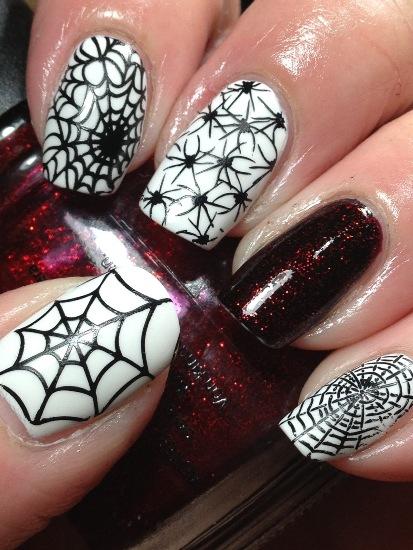 Spider Nail Design