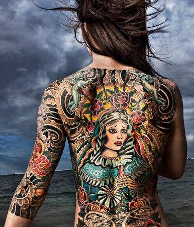 1bbc2a3703004 15 Beautiful Full Body Tattoo Designs For Men And Women