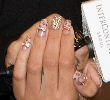 9 Best Hollywood Celebrity Nail Art Designs Styles At Life