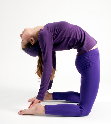 Sit Or Stand On Your Knees This Time Bend Backwards And Touch Feet With Hands You Should Be Trying To Look If It Is Very Difficult