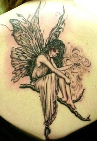 Tribal Fairy Tattoo
