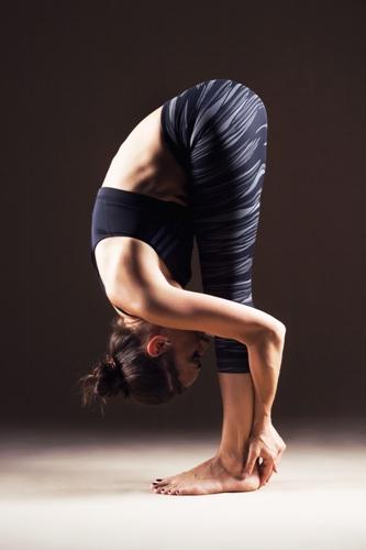 Uttanasana/The Standing Forward Bend Pose