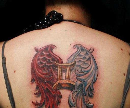 winged-gemini-tattoo