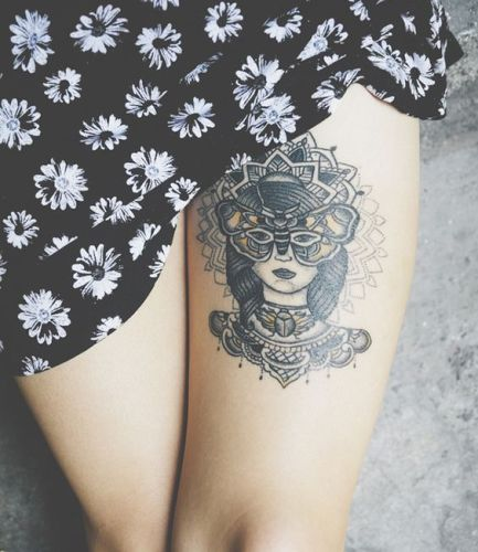 glamour tattoo for women