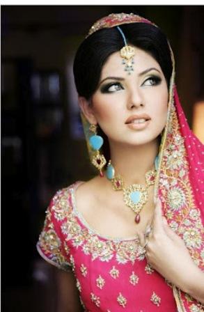 Brown Bridal Makeup Look