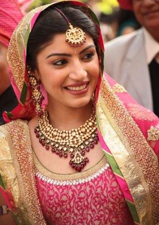 Elegant Indian Bride Look