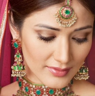 Light Wedding Makeup Look