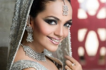 Silver on Warm skintones really bride looks