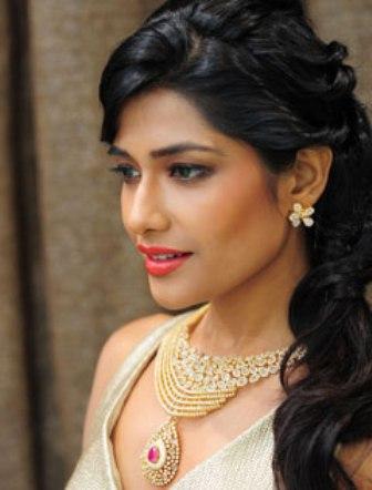 Modern Indian Bride Look