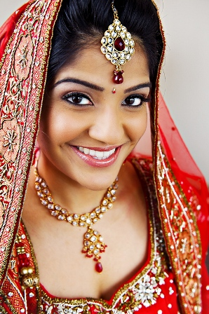 Colourful Indian Bride
