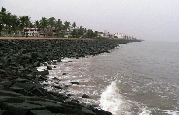 Beaches In Pondicherry -Promanade Beach