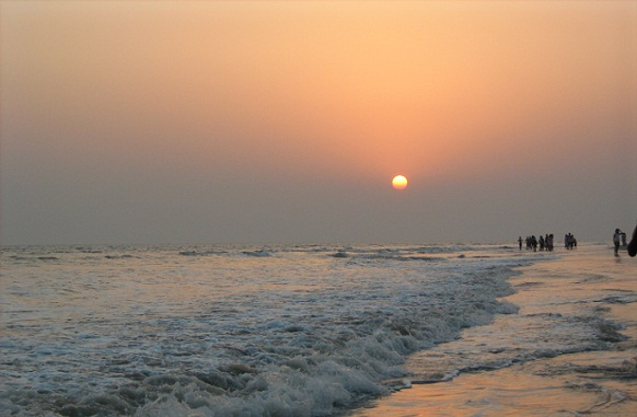 Beaches In West Bengal-Bakkahali Beach